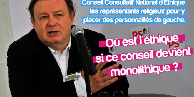 CCNE : M. le Président de la République, quelle éthique dans un Comité monolithique ?