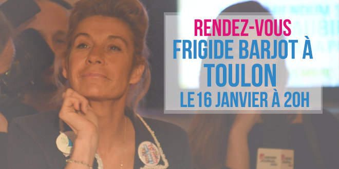 [Annulé] Frigide Barjot à Toulon le 16 janvier