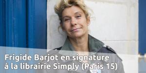 Signature de Frigide Barjot dans le 15e (Paris) le 21 juin 2014 @ Librairie Simply | Paris | Île-de-France | France