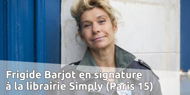 Signature de Frigide Barjot dans le 15e (Paris) le 21 juin 2014