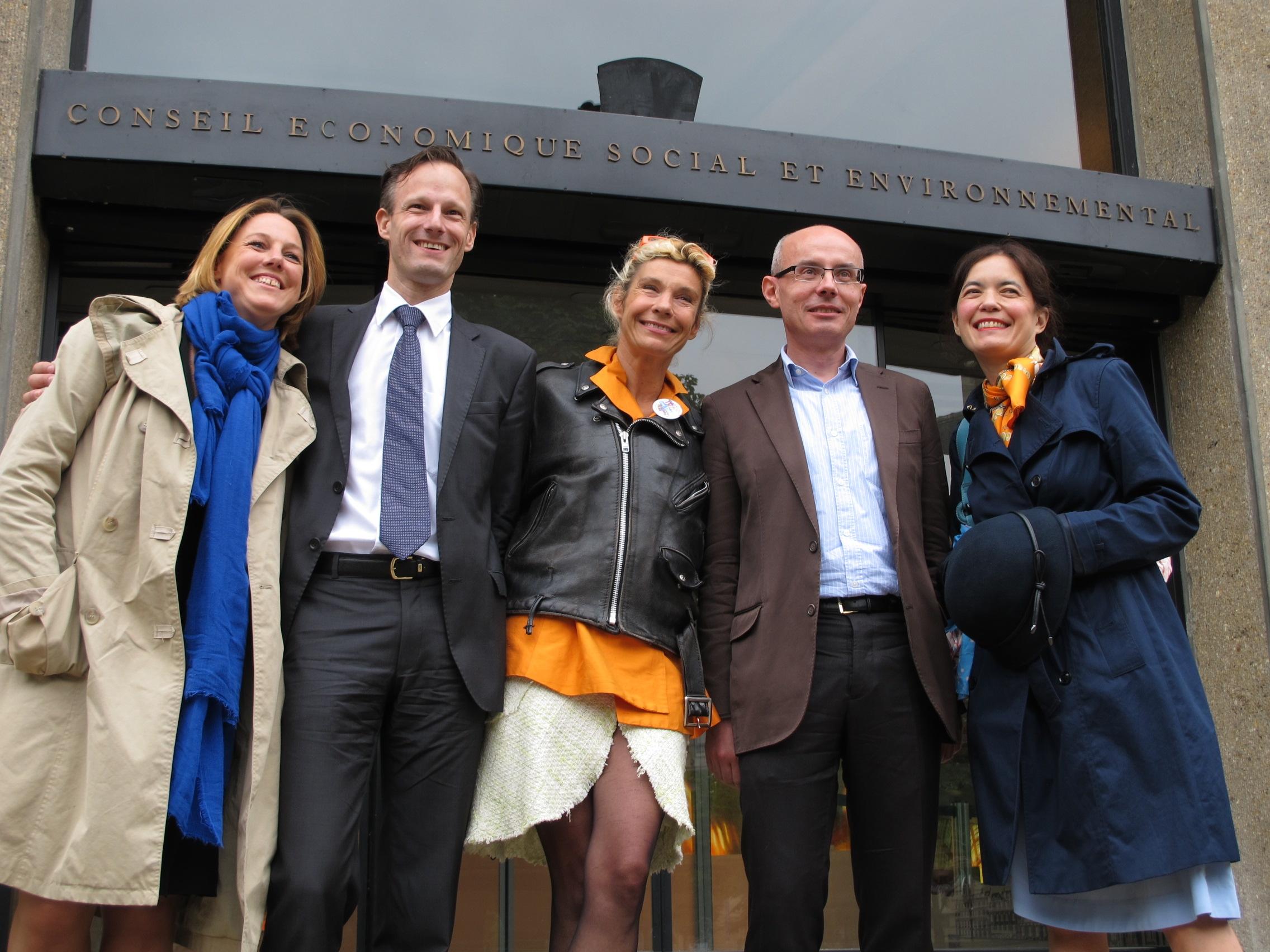 L'Avenir pour Tous au CESE: les photos