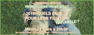 Conférence-dédicace de Virginie Tellenne @ Leroy's bar | Paris | Île-de-France | France