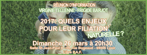 Réunion d'information avec Virginie Tellenne @ Salle Saint Jean-Paul II | Lyon | Auvergne-Rhône-Alpes | France