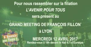 Grand Meeting de François Fillon @ Eurexpo Lyon
