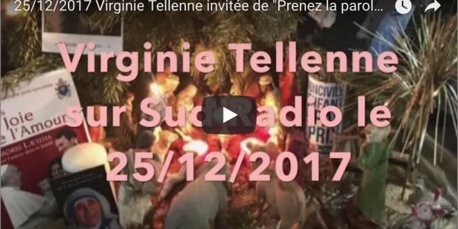 Virginie Tellenne invitée de «Prenez la parole»