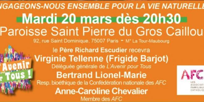 Contre la techno-reproduction marchande, retrouvons-nous à Paris le 20 mars à 20h30