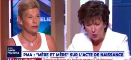 PMA anonyme – Sur LCI, Virginie Tellenne propose la coparentalité face à Roselyne Bachelot